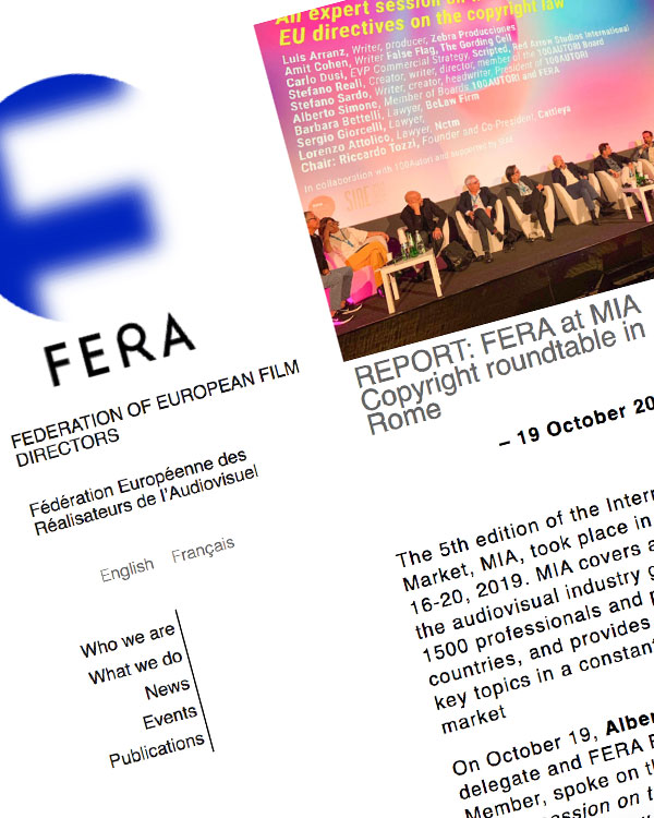 Fairness Rocks News FERA at MIA Copyright roundtable in Rome