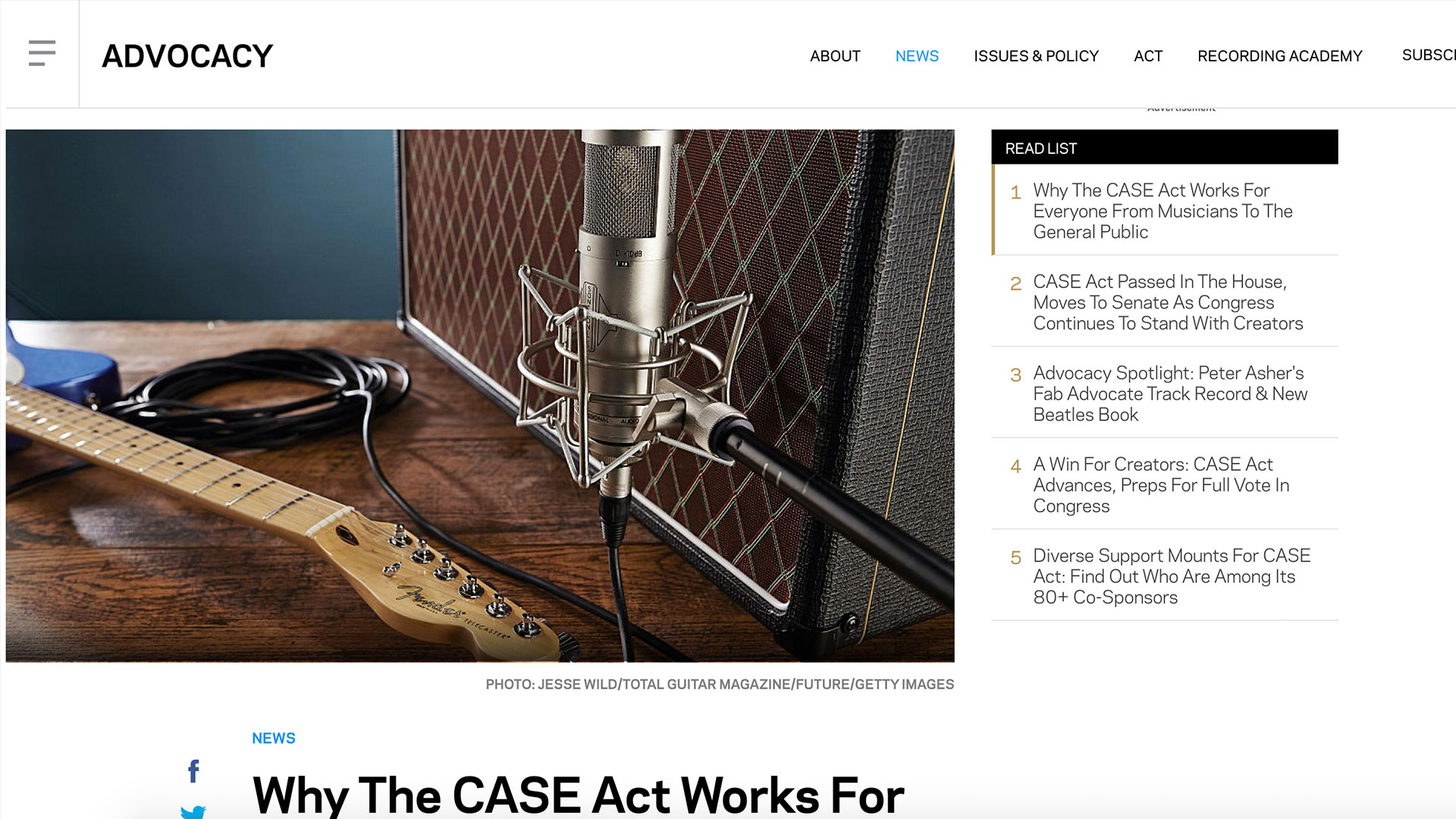 Fairness Rocks News Why The CASE Act Works For Everyone From Musicians To The General Public