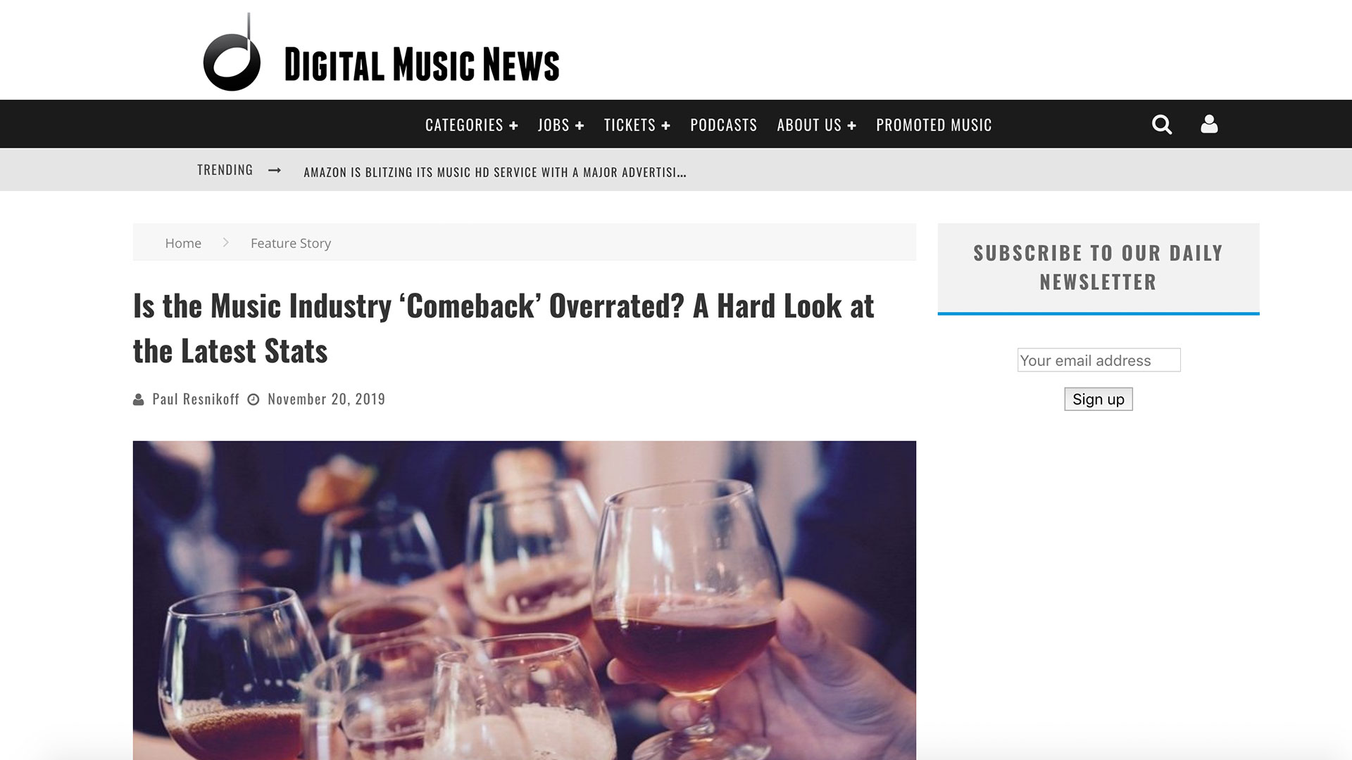 Fairness Rocks News Is the Music Industry 'Comeback' Overrated? A Hard Look at the Latest Stats