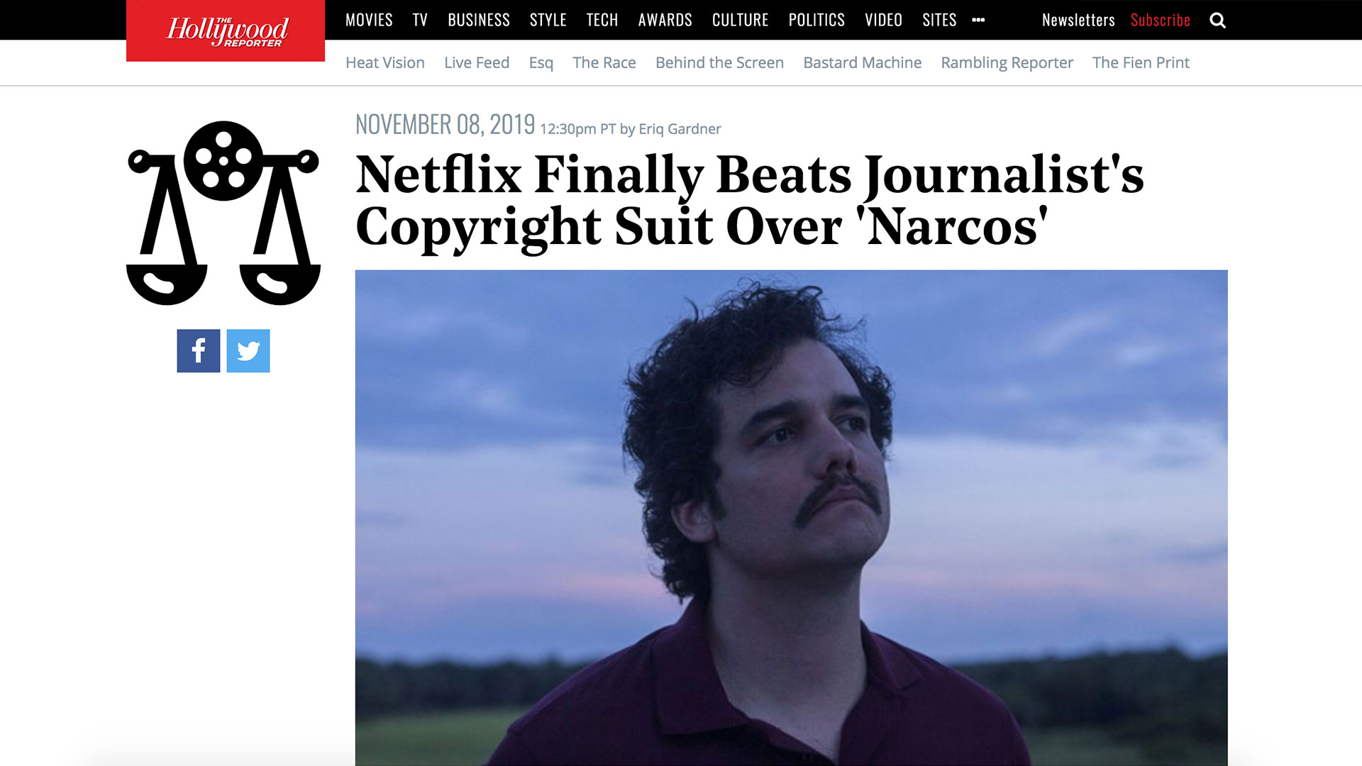 Fairness Rocks News Netflix Finally Beats Journalist's Copyright Suit Over 'Narcos'