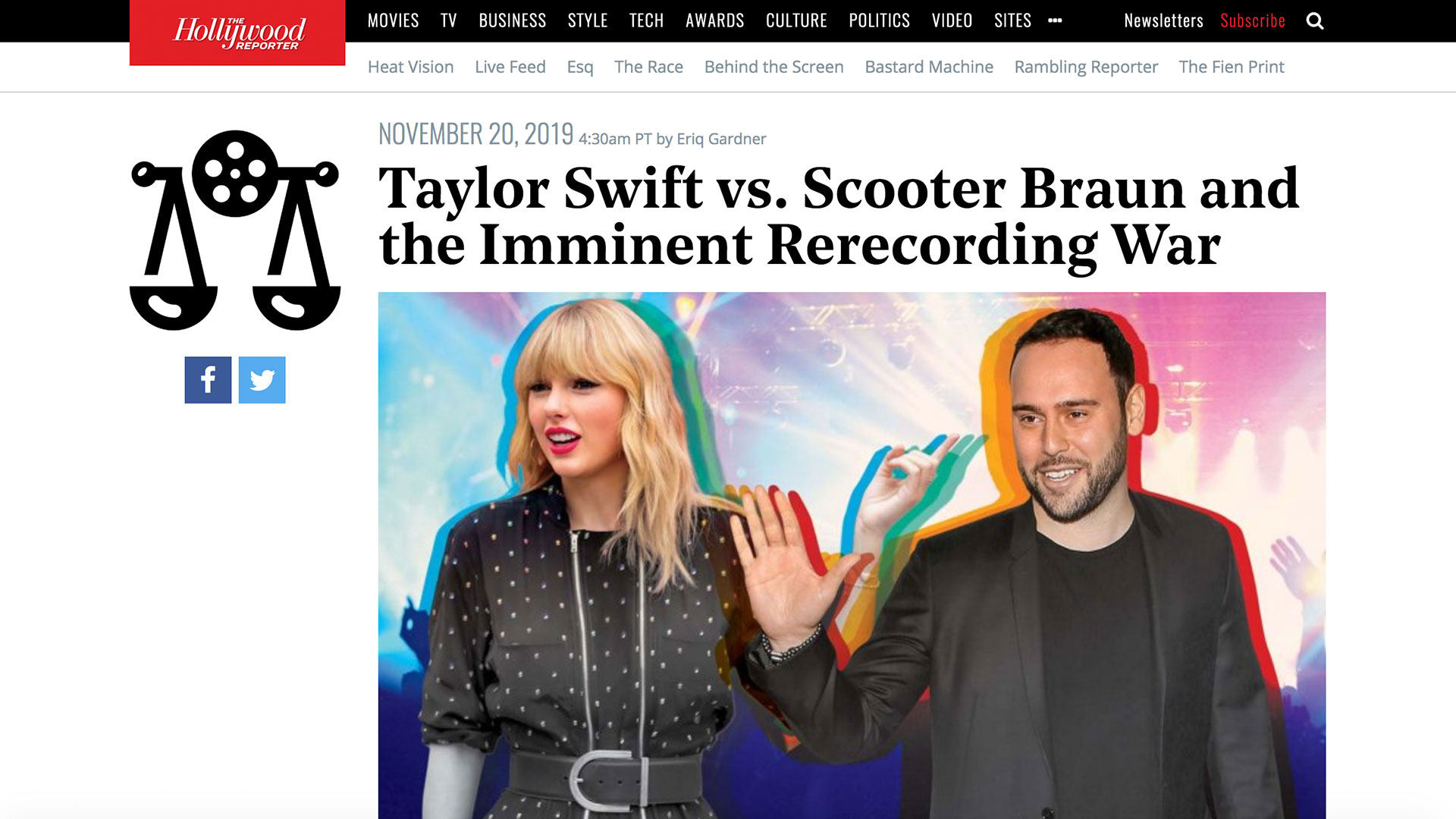 Fairness Rocks News Taylor Swift vs. Scooter Braun and the Imminent Rerecording War