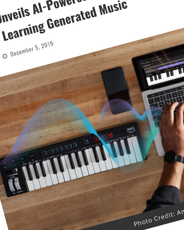 Fairness Rocks News Amazon Unveils AI-Powered Keyboard, DeepComposer ⁠⁠— For Machine Learning Generated Music