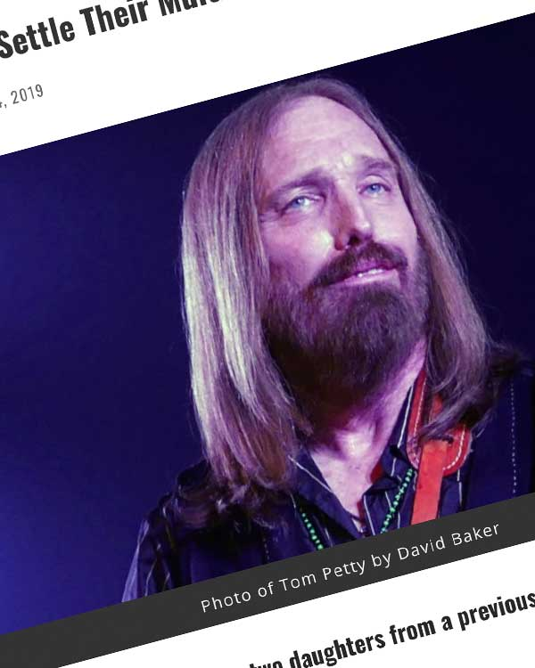 Fairness Rocks News Tom Petty Heirs Settle Their Multi-Million Dollar Legal War