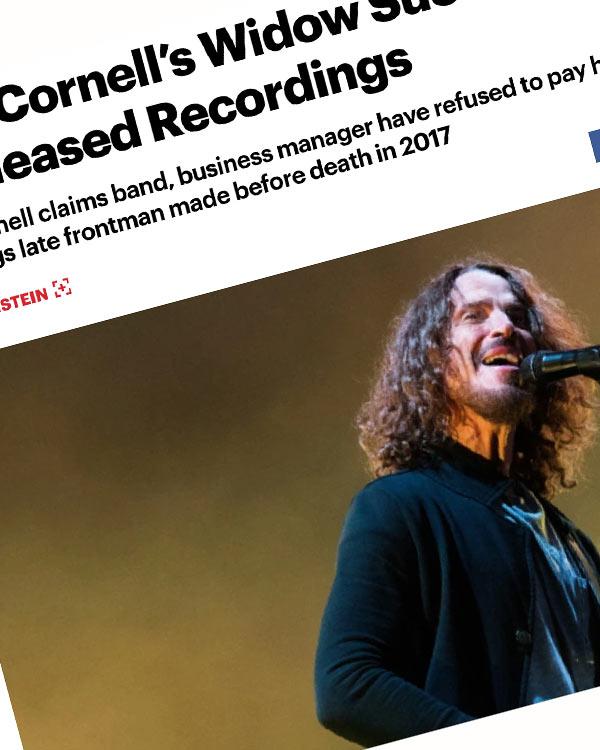 Fairness Rocks News Chris Cornell's Widow Sues Soundgarden Over Unreleased Recordings