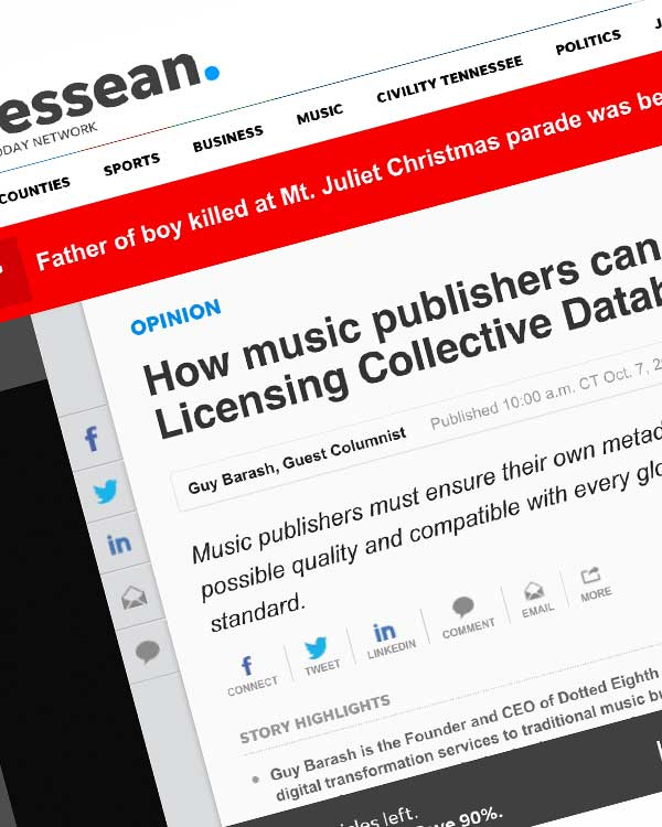 Fairness Rocks News How music publishers can prepare for Mechanical Licensing Collective Database | Opinion