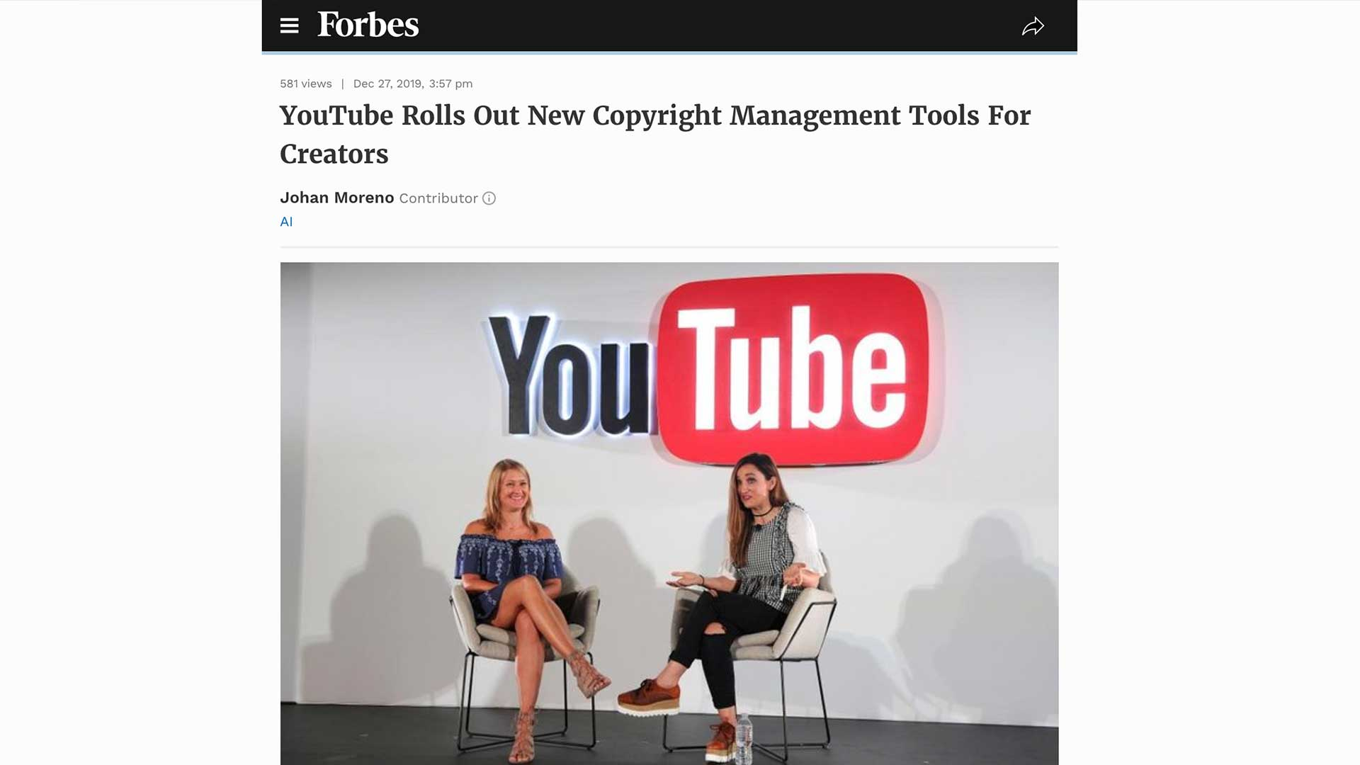 Fairness Rocks News YouTube Rolls Out New Copyright Management Tools For Creators