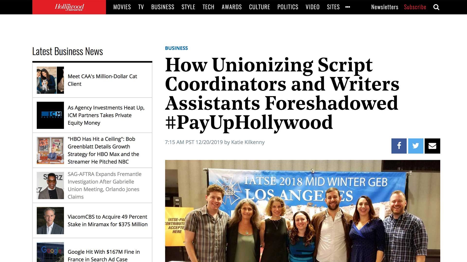 Fairness Rocks News How Unionizing Script Coordinators and Writers Assistants Foreshadowed #PayUpHollywood