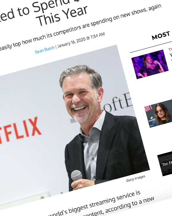Fairness Rocks News Netflix Expected to Spend $17 Billion on Content This Year