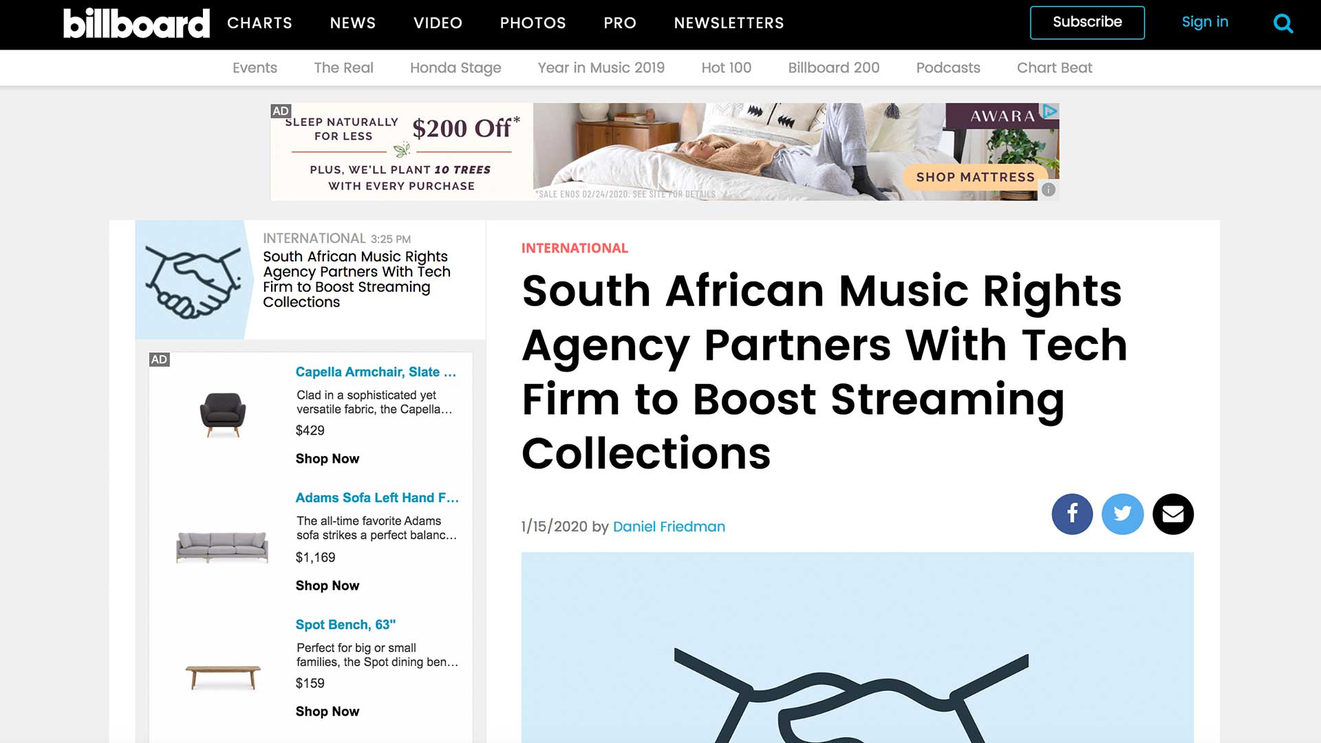 Fairness Rocks News South African Music Rights Agency Partners With Tech Firm to Boost Streaming Collections