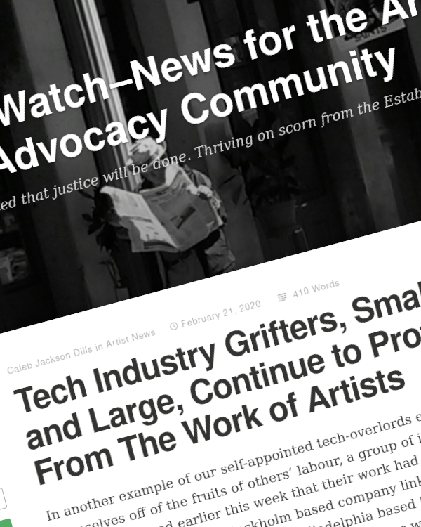 Fairness Rocks News Tech Industry Grifters, Small and Large, Continue to Profiteer From The Work of Artists