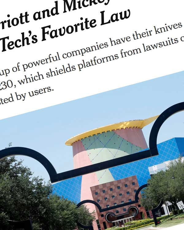 Fairness Rocks News IBM, Marriott and Mickey Mouse Take On Tech's Favorite Law