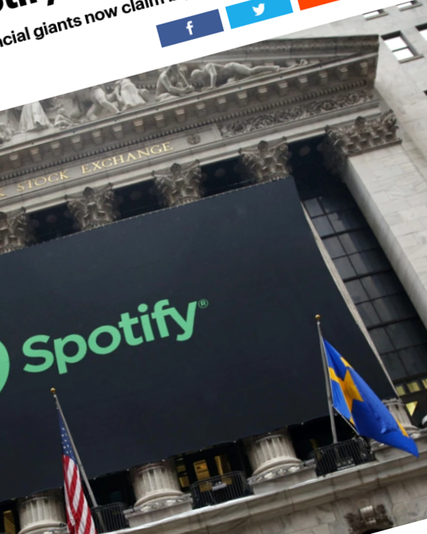 Fairness Rocks News Who Really Owns Spotify?