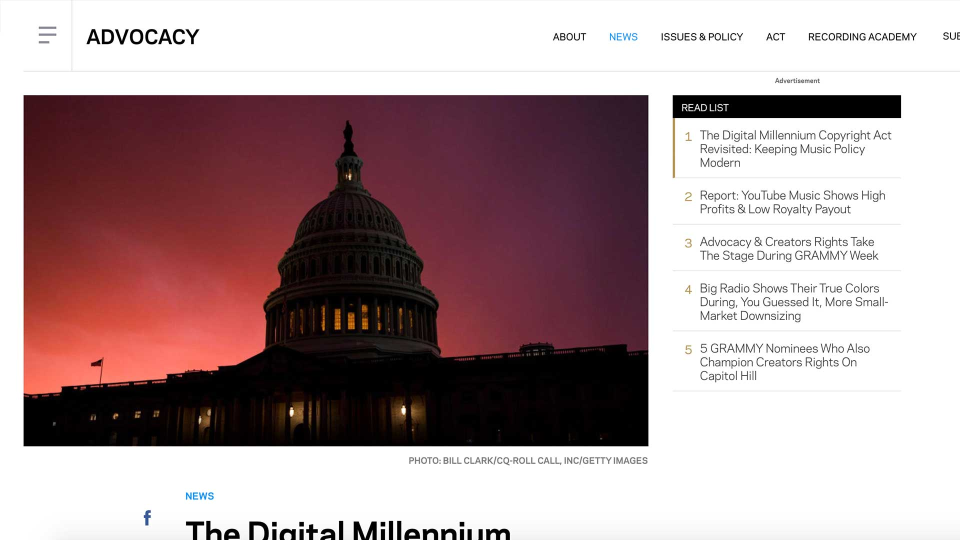 Fairness Rocks News The Digital Millennium Copyright Act Revisited: Keeping Music Policy Modern
