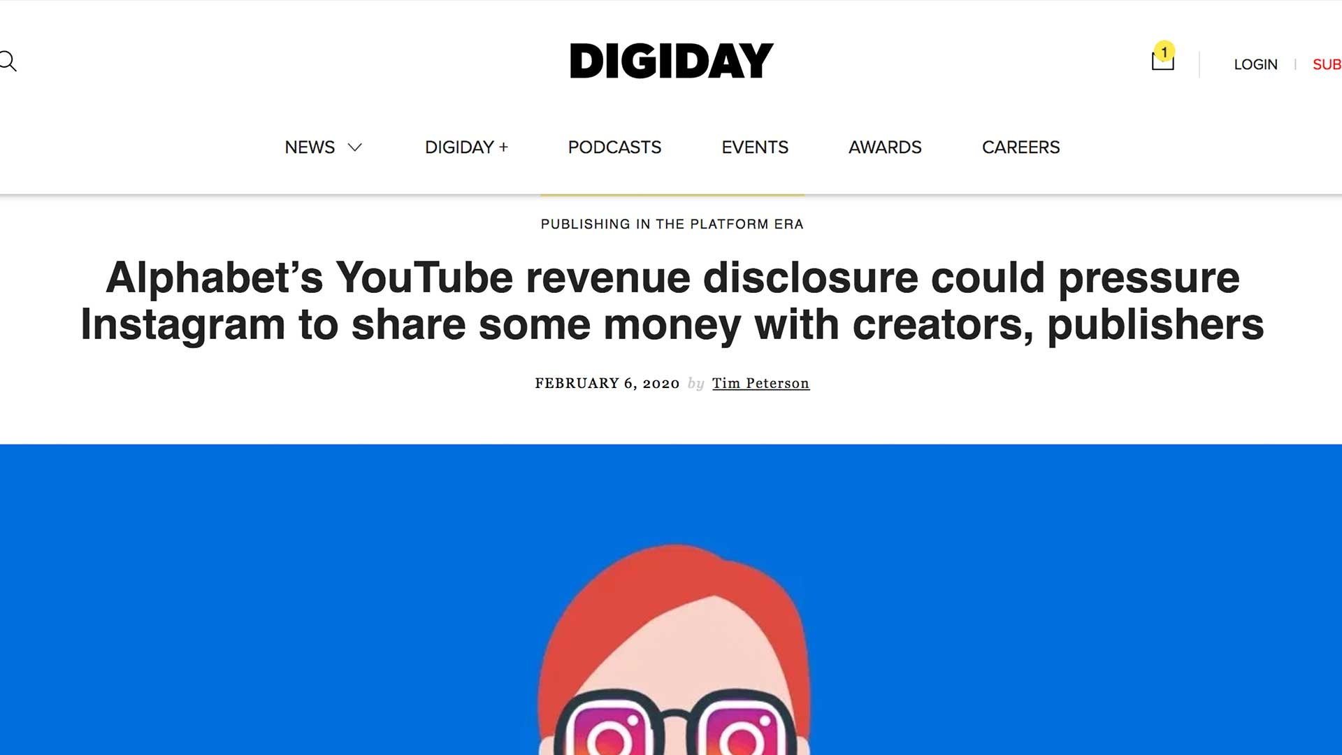 Fairness Rocks News Alphabet's YouTube revenue disclosure could pressure Instagram to share some money with creators, publishers