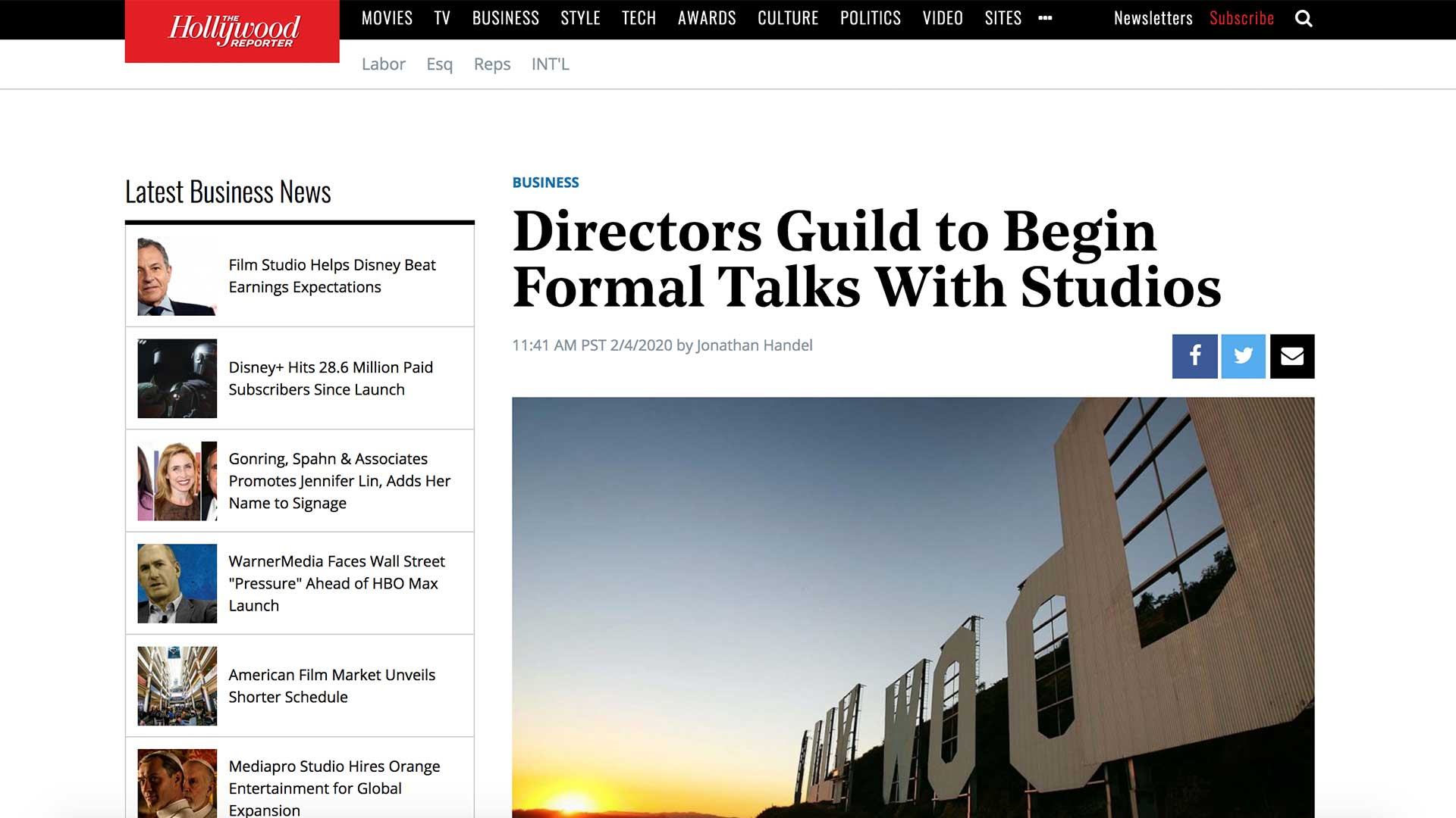 Fairness Rocks News Directors Guild to Begin Formal Talks With Studios