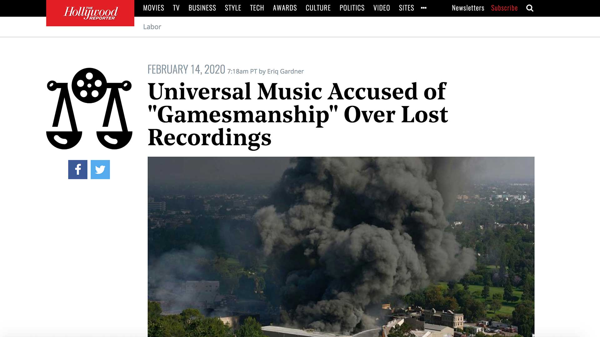 """Fairness Rocks News Universal Music Accused of """"Gamesmanship"""" Over Lost Recordings"""