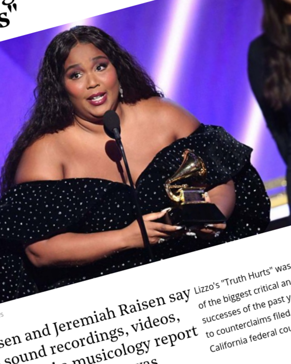 """Fairness Rocks News Lizzo Faces Countersuit for Denying Songwriters a Share of """"Truth Hurts"""""""