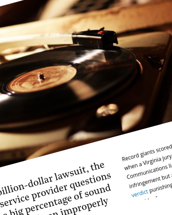 Fairness Rocks News Charter Challenges Copyright Registrations of Music Recordings