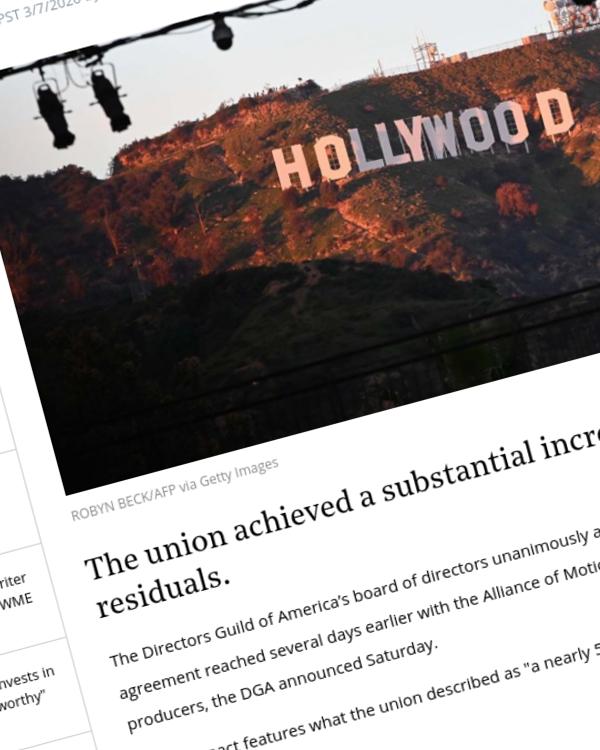 Fairness Rocks News Directors Guild Board Approves New Studio Deal