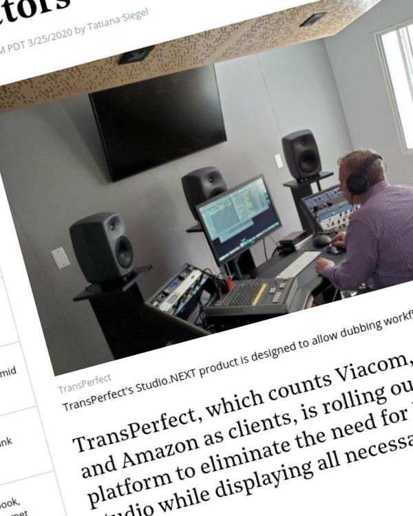 Fairness Rocks News Dubbing Service Rolls Out Virtual Studio for Voice Actors