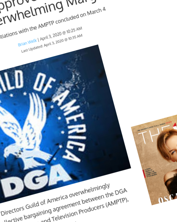 Fairness Rocks News DGA Members Approve Film and TV Contract By Overwhelming Margin