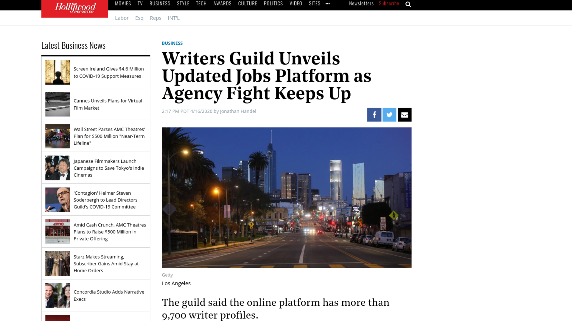 Fairness Rocks News Writers Guild Unveils Updated Jobs Platform as Agency Fight Keeps Up