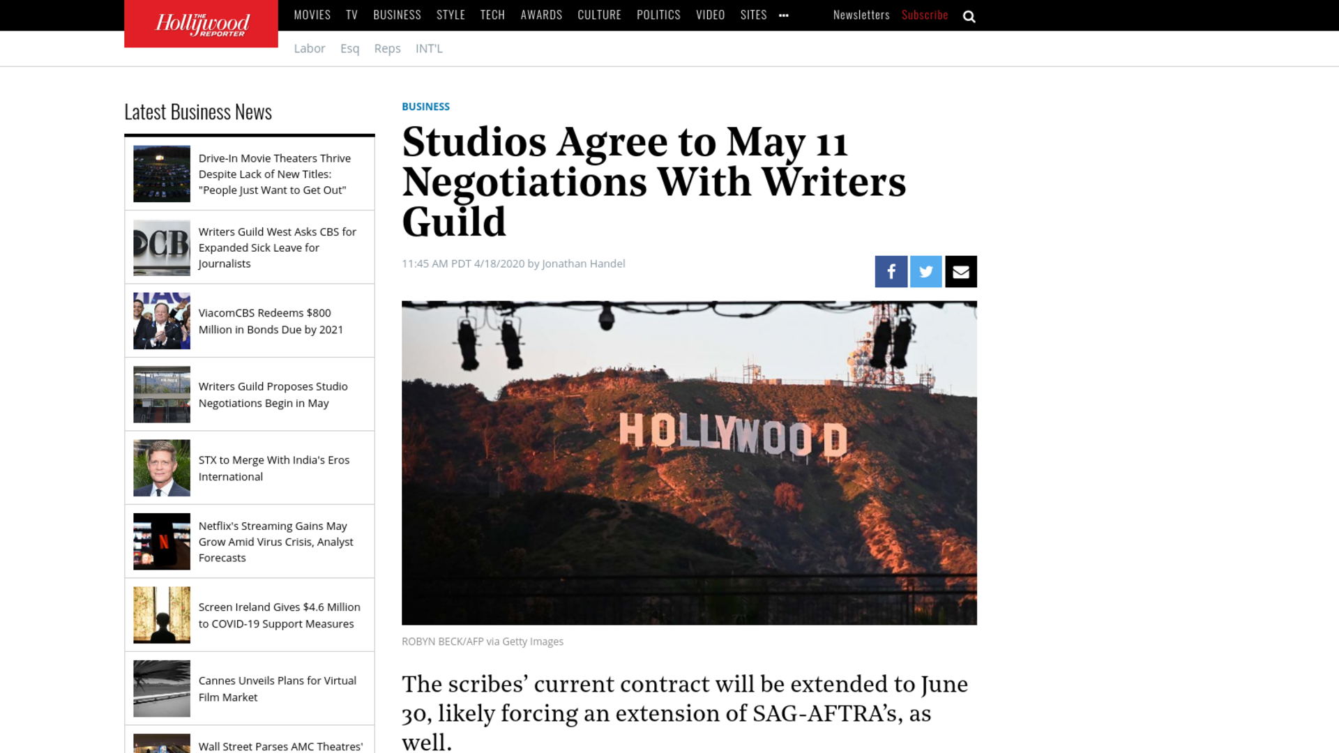 Fairness Rocks News Studios Agree to May 11 Negotiations With Writers Guild