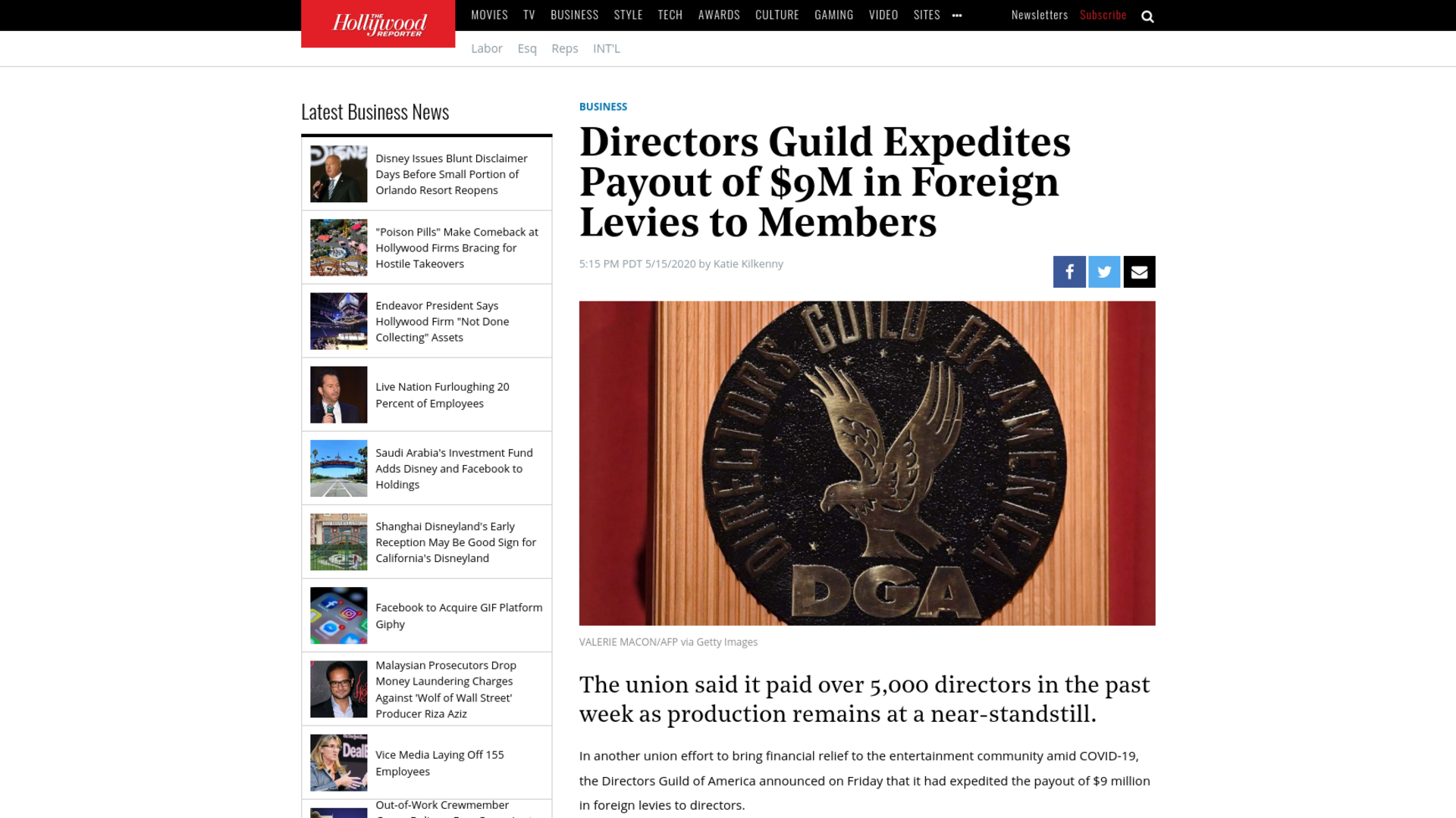 Fairness Rocks News Directors Guild Expedites Payout of $9M in Foreign Levies to Members