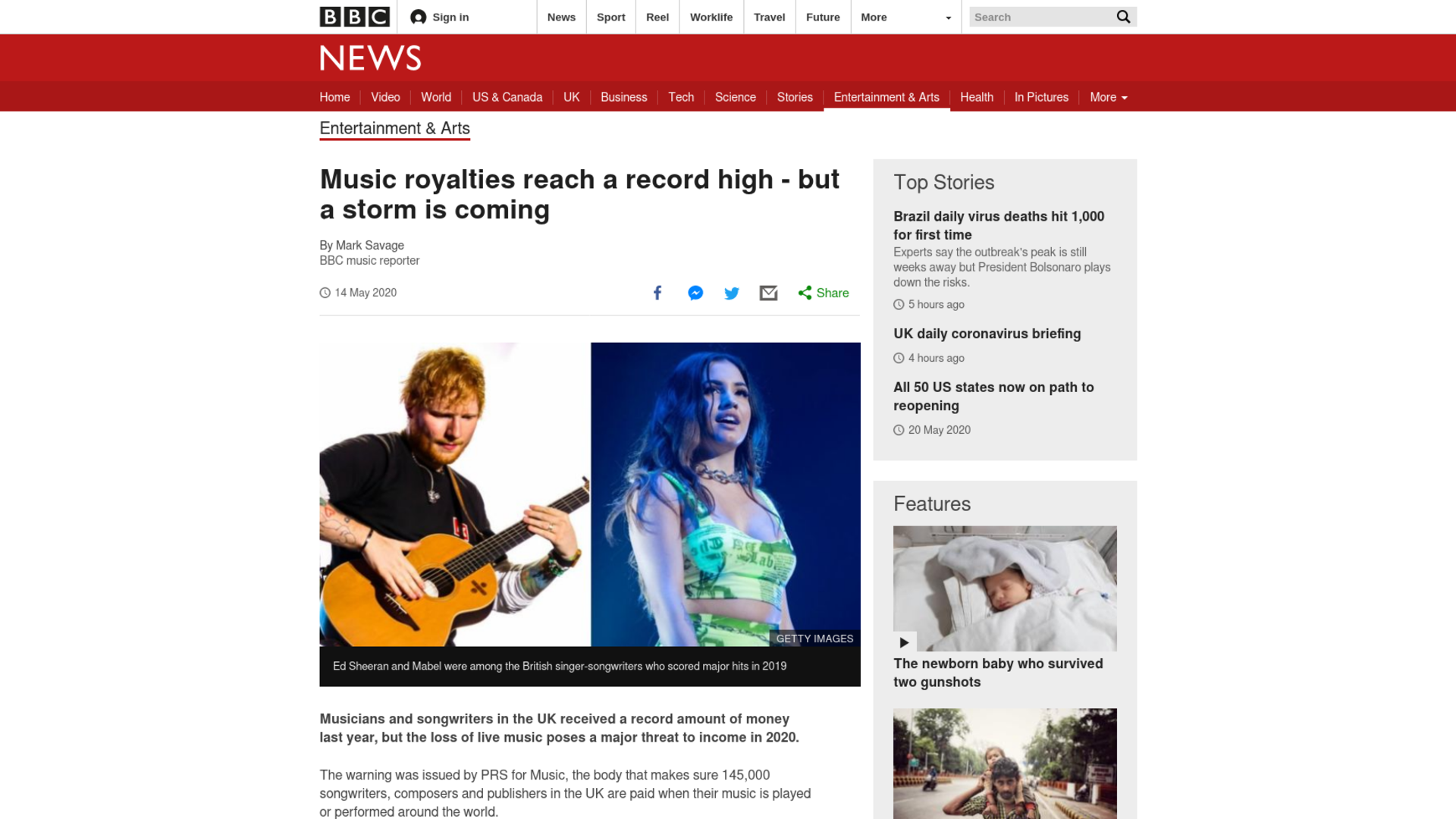 Fairness Rocks News Music royalties reach a record high – but a storm is coming
