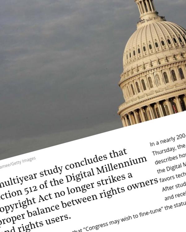 Fairness Rocks News Copyright Office Says Landmark Piracy Law Needs Fine-Tuning