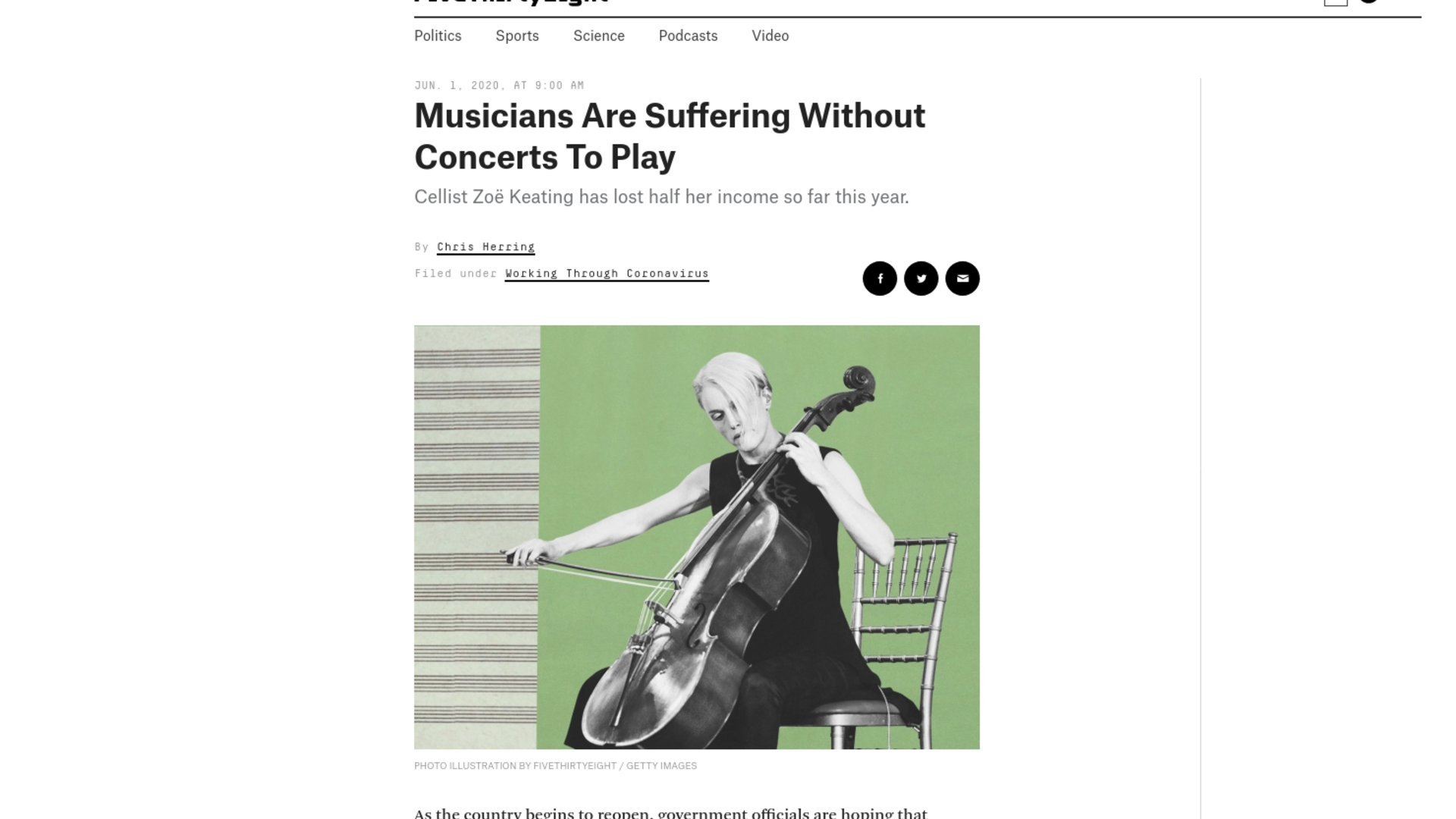 Fairness Rocks News Musicians Are Suffering Without Concerts To Play