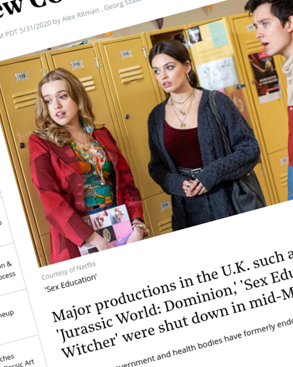 Fairness Rocks News U.K. to Resume Film, High-End TV Production Under New COVID-19 Guidelines