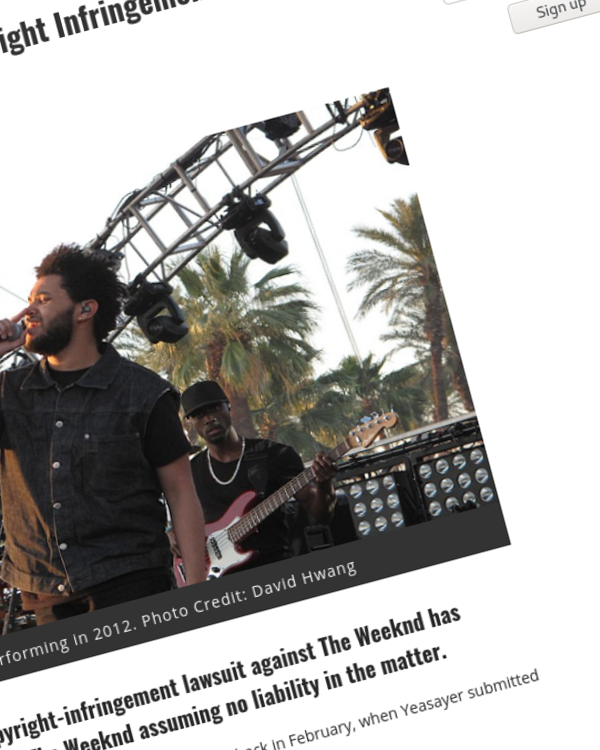 Fairness Rocks News The Weeknd's Black Panther Copyright Infringement Battle Is Officially Over