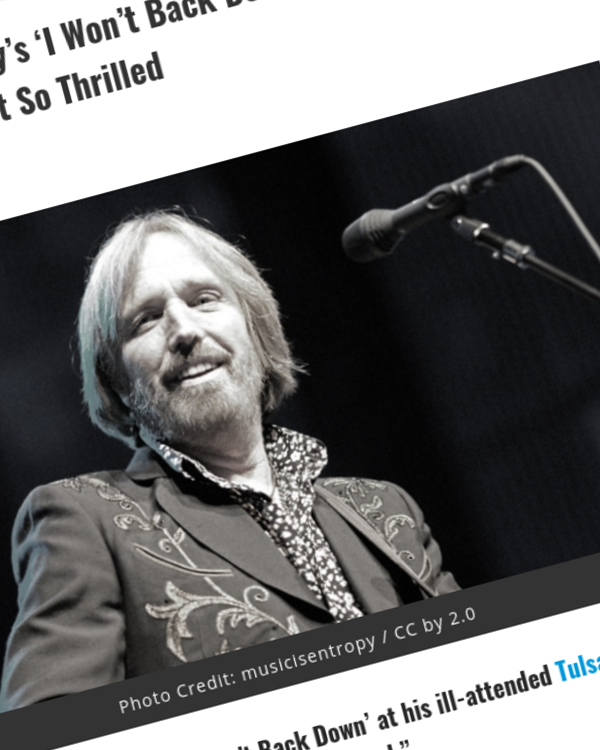 Fairness Rocks News Trump Plays Tom Petty's 'I Won't Back Down' at His Tulsa Rally — Petty's Family Isn't So Thrilled