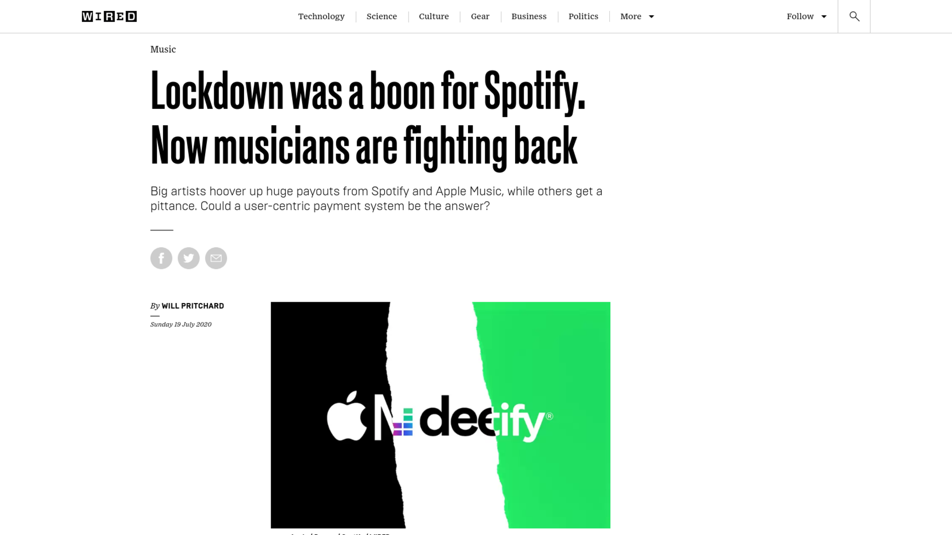 Fairness Rocks News Lockdown was a boon for Spotify. Now musicians are fighting back