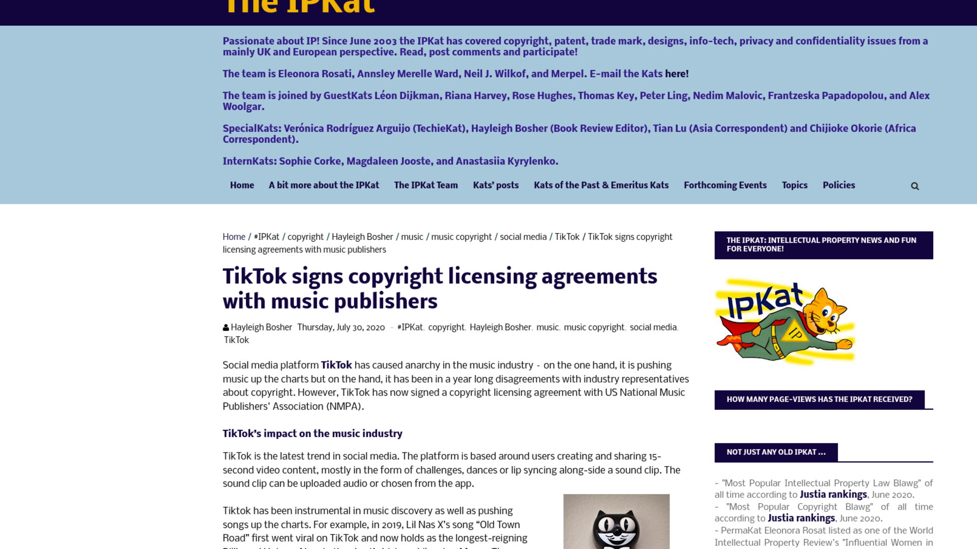 Fairness Rocks News TikTok signs copyright licensing agreements with music publishers