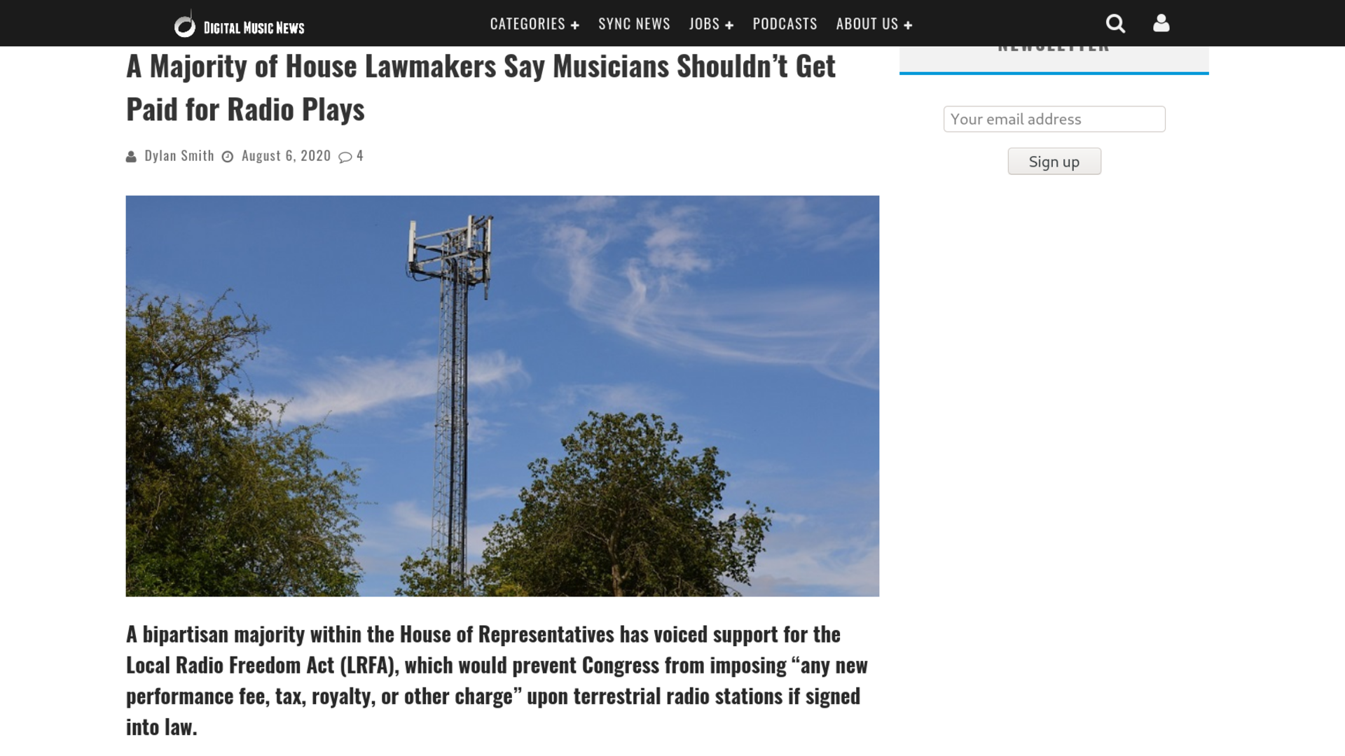 Fairness Rocks News A Majority of House Lawmakers Say Musicians Shouldn't Get Paid for Radio Plays