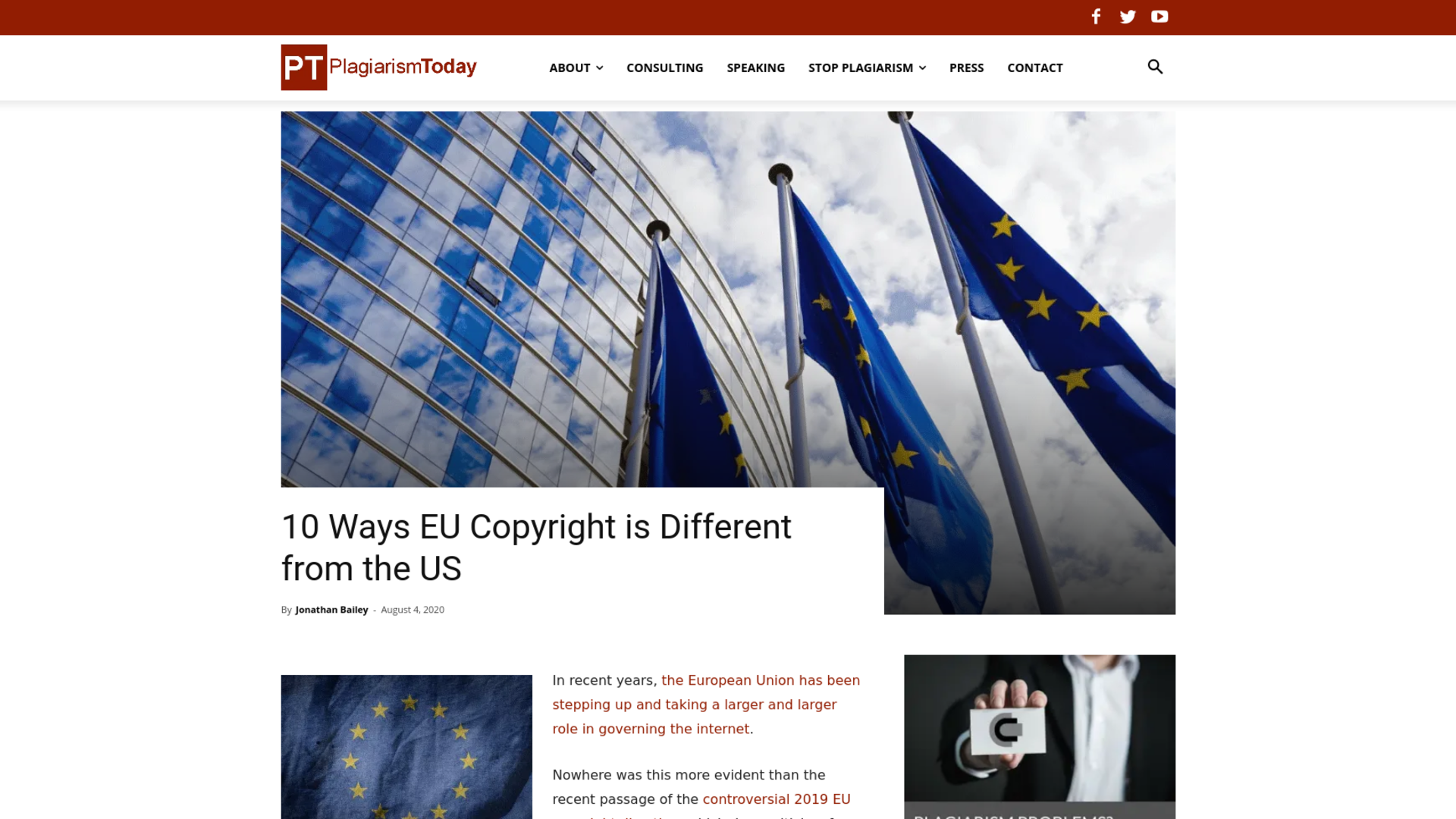 Fairness Rocks News 10 Ways EU Copyright is Different from the US