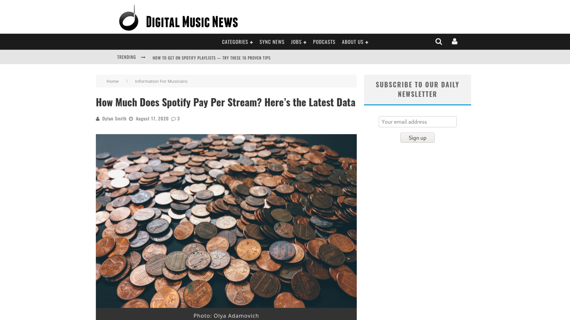 Fairness Rocks News How Much Does Spotify Pay Per Stream? Here's the Latest Data