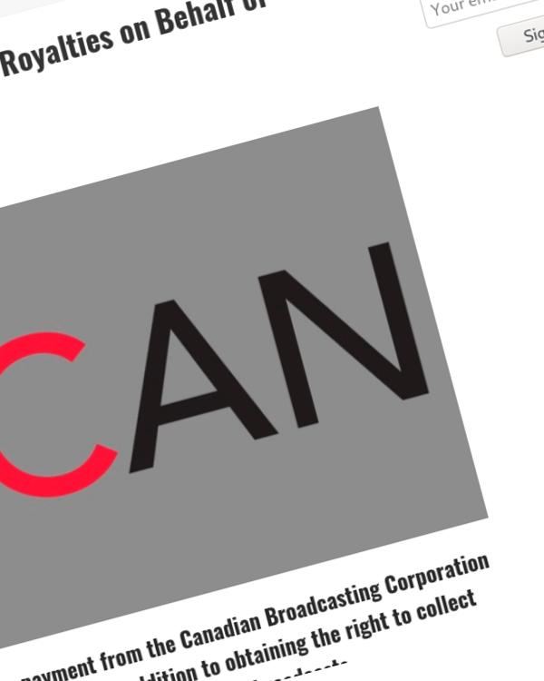 Fairness Rocks News SOCAN Secures $1.5 Million In CBC Royalties on Behalf of SODRAC Members