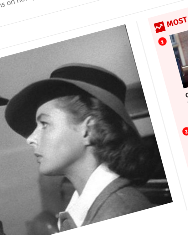 Fairness Rocks News Movie directors told to revisit classic films like Casablanca for tips on no-touch intimacy