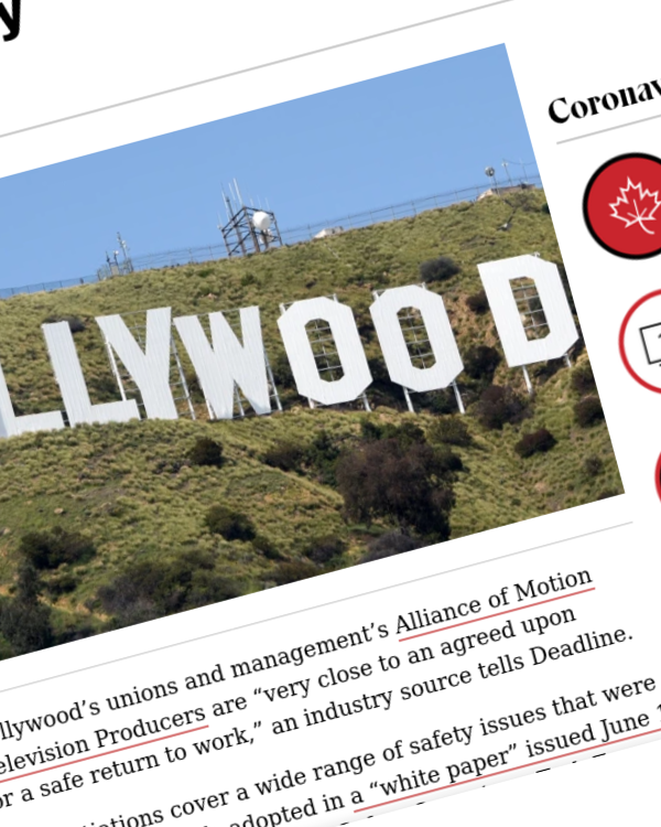 "Fairness Rocks News Hollywood Unions & AMPTP ""Very Close"" To Return-To-Work Deal, Sources Say"