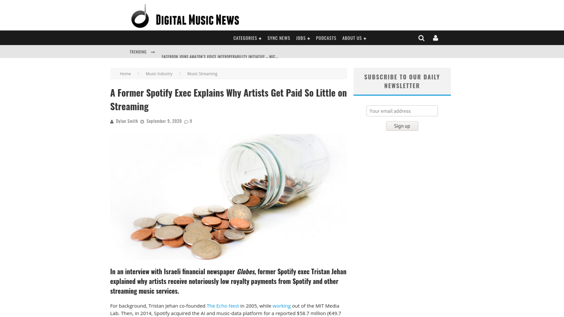 Fairness Rocks News A Former Spotify Exec Explains Why Artists Get Paid So Little on Streaming
