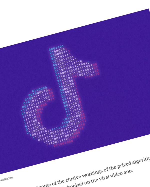 Fairness Rocks News Inside TikTok's killer algorithm