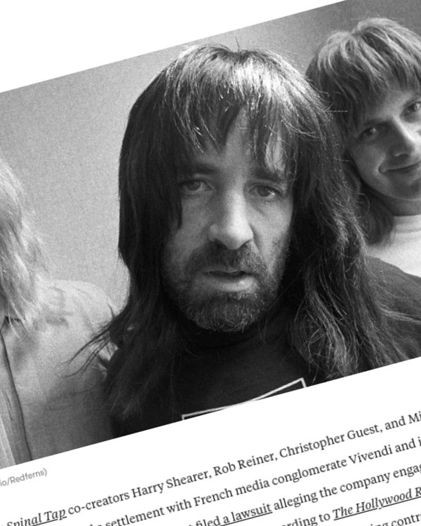 Fairness Rocks News Spinal Tap Creators Reach Settlement With Vivendi in Fraud Lawsuit