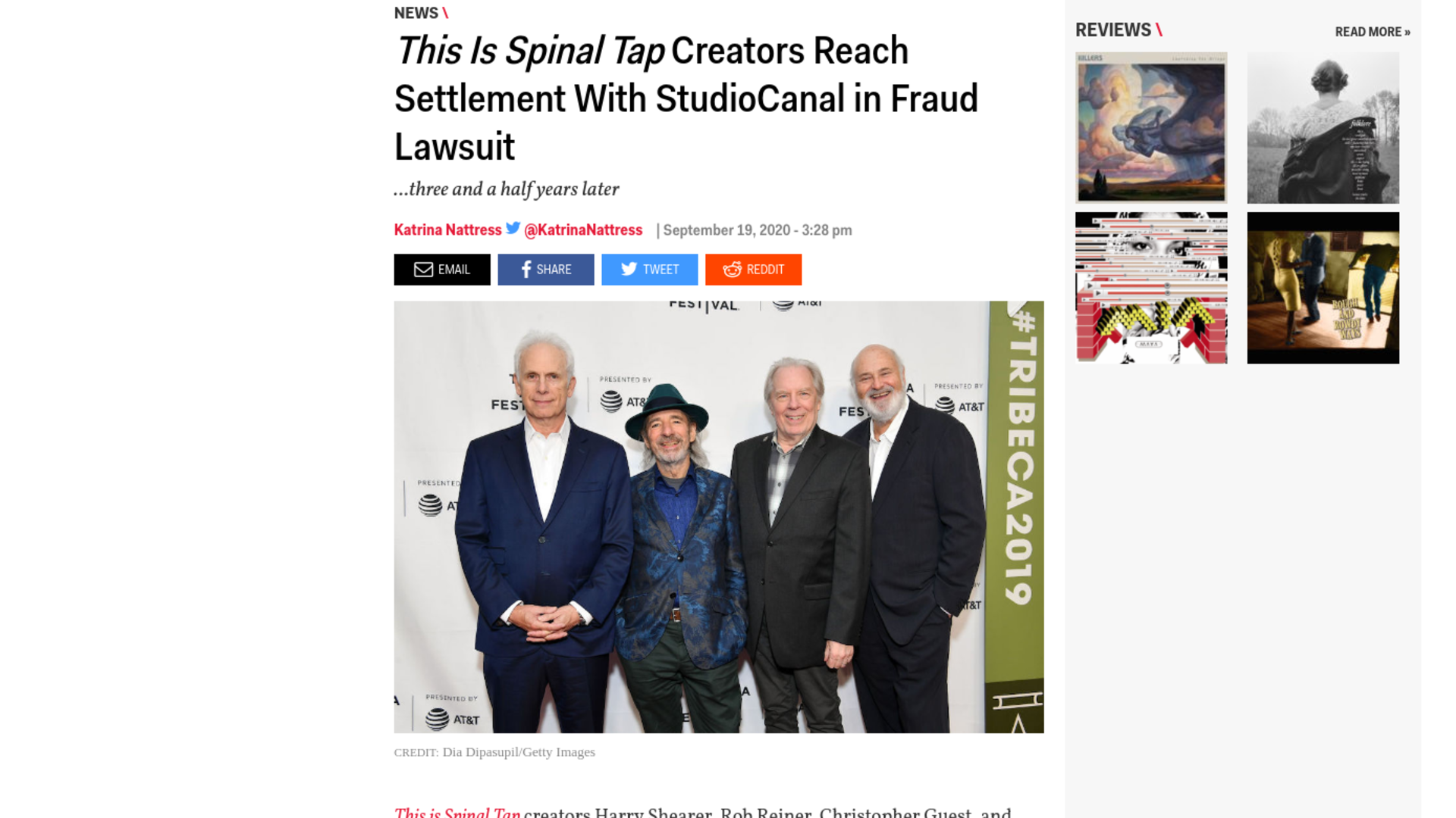 Fairness Rocks News This Is Spinal Tap Creators Reach Settlement With StudioCanal in Fraud Lawsuit