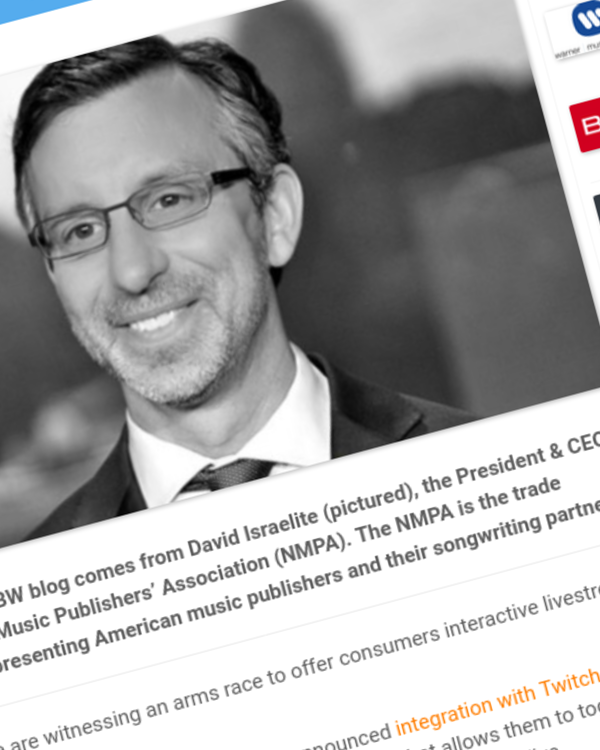 Fairness Rocks News Live streaming must respect the rights of songwriters
