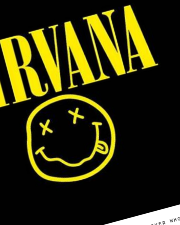 Fairness Rocks News Smells Like Copyright Infringement! Designer Sues Saying He Invented Nirvana's Iconic 'Smiley Face' Not Kurt Cobain