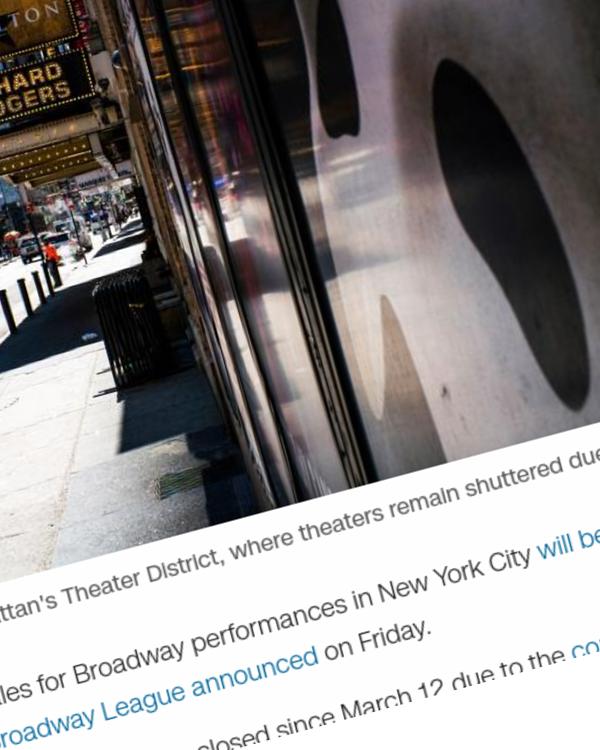 Fairness Rocks News Broadway will stay dark through May 30, 2021