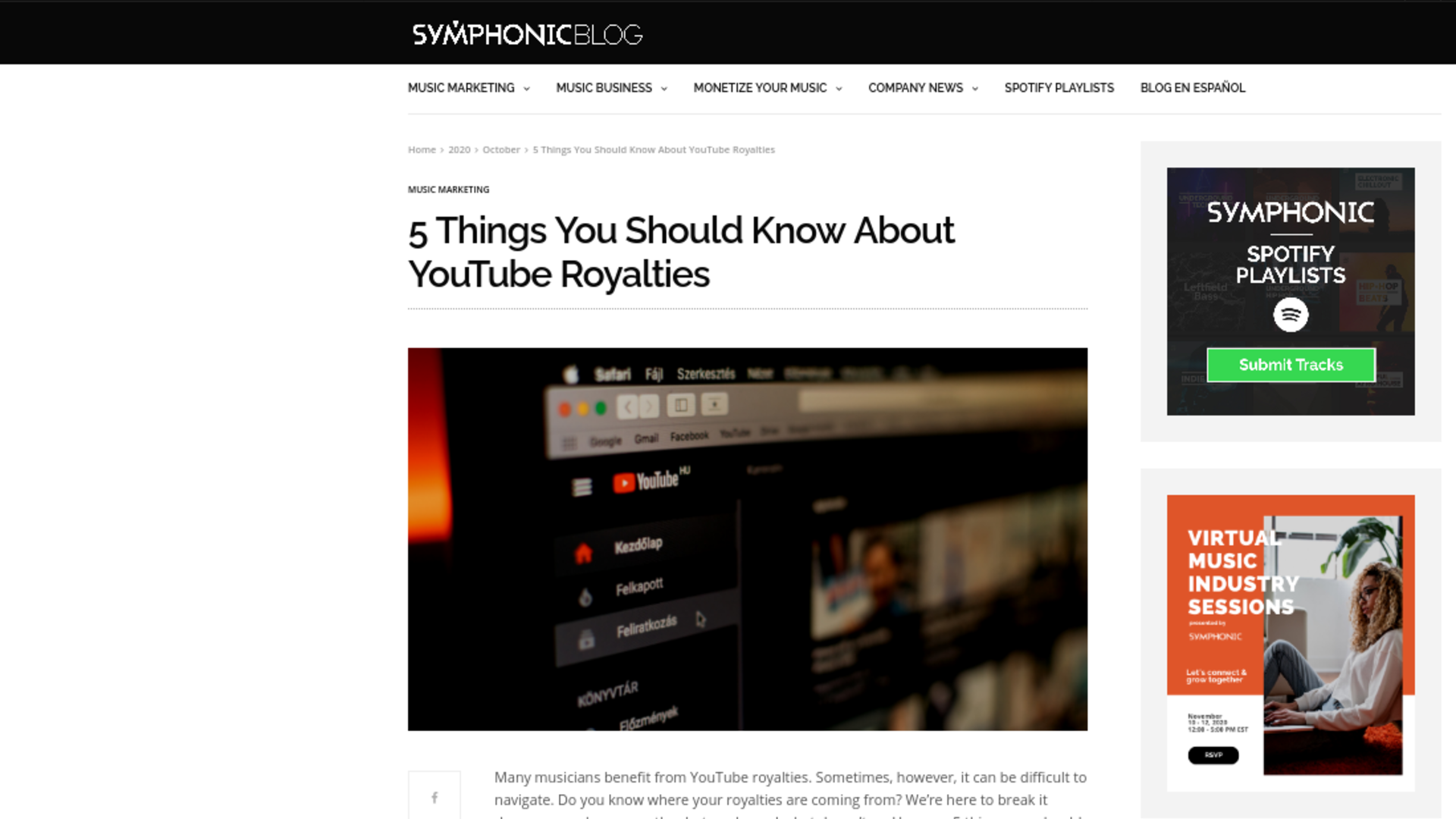Fairness Rocks News 5 Things You Should Know About YouTube Royalties